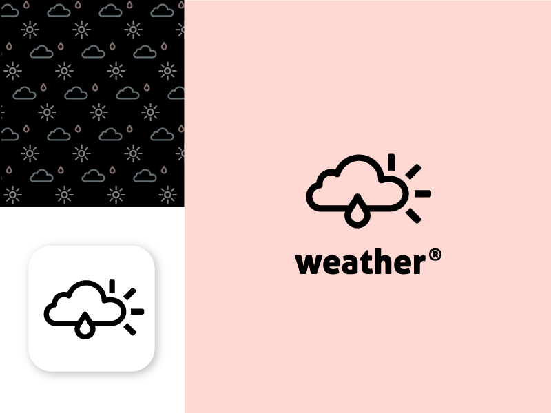 App Logo - Weather app ci logo weather app logo app icon