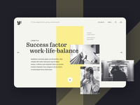 Online magazine for young professionals
