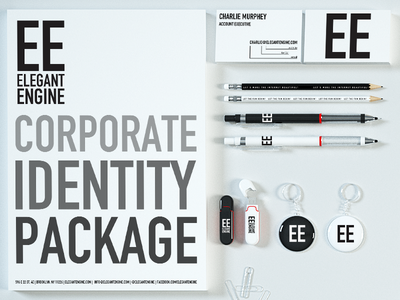 ElegantEngine.com Corporate Id Package