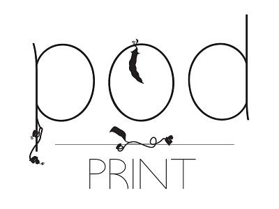 Pod Print Logo print branding logo
