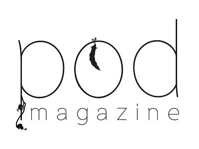 Pod Magazine Logo branding print