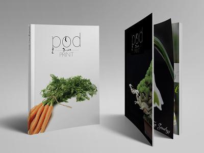 Pod Print Mocks print identity branding art direction