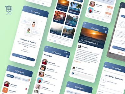 Buddys Mobile App branding mobile app design react native mobile app app user experience ui design ux airship