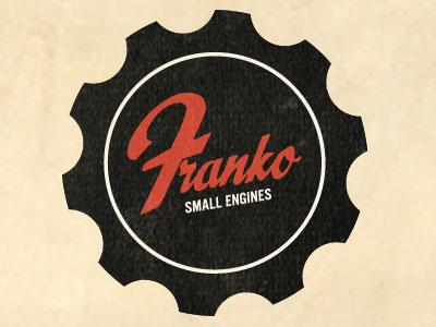 Franko Snmall Engines logo retro branding