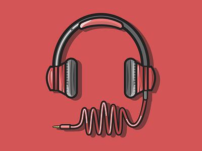 Headphone designinspiration headphone logo animation vector 2d flat design sketchapp design portfolio illustration