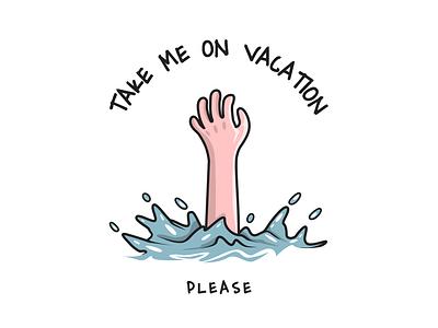 Take me on vacation figma branding vector 2d flat design sketchapp design portfolio illustration