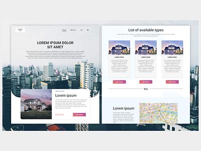 Web Design Portfolio website design portfolio ux ui figma sketchapp