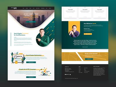 MichaelQuinn Website Redesign seo redesign ux ui sketchapp design figma portfolio website design