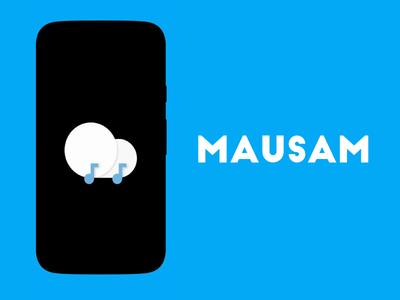 Iconography for Mausam. material design minimal iconography icons weather