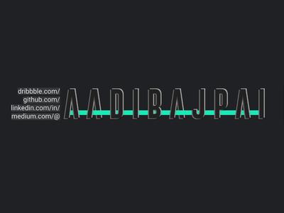 Links + Typography dribbble ui typography design