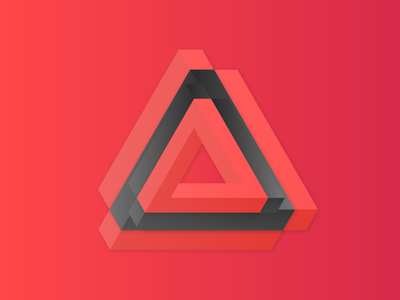 ~Overcomplicated tesseract complicated penrose triangle illustration