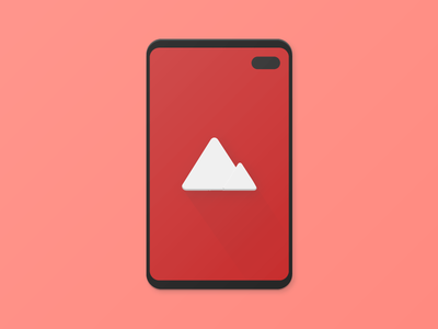 Hidey Hole by Chainfire App Icon android material icons samsung material design chainfire design material iconography