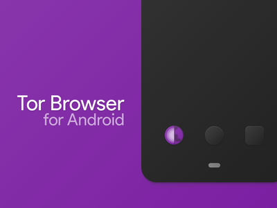 Tor Browser for Android browser mockup iconography material material design tor