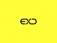 EXD typography logo idea