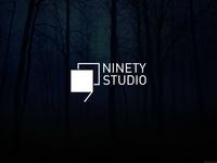 Ninety Studio Minimalist logo design