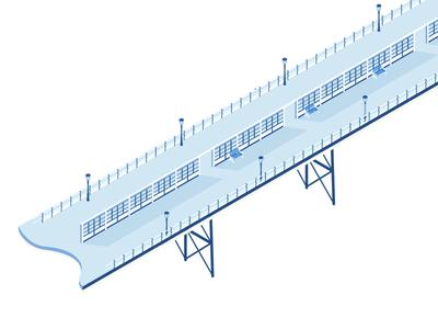 Pier part one vector illustrator pier