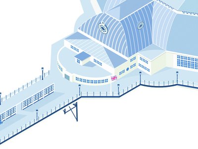 Pier part two vector illustrator pier