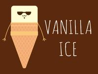 Vanilla Ice Cream ice cream illustration vanilla ice cream