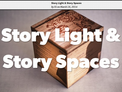 Story Light & Story Spaces