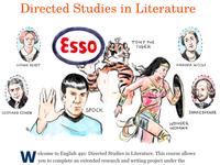 English 491 Course Illustration