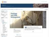 Heritage and Risk Management
