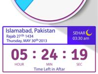 Time Widget- Iftar Ramadan iOS App
