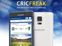 Cricfreak App