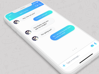 #DailyUI #013 | Direct Messaging