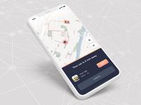 #DailyUI #020 | Location Tracker