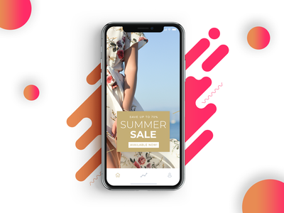 #DailyUI #036 | Special Offer design app design ui trend iphone mockup fashion summer discount offer special 036 dailyui