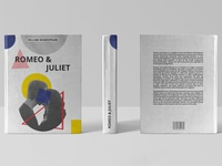 """Romeo & Juliet"" book cover design"
