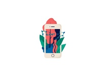 iPhone illustration