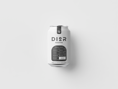 Coffee can design. brand identity branding logo design label design packaging design packaging can design can coffee