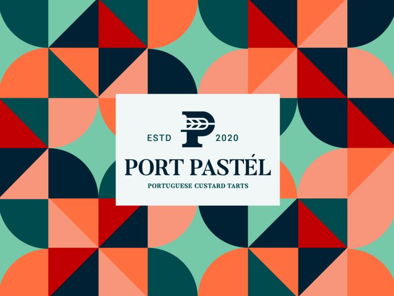 Logo design pattern. branding logodesign pattern colors geometrical shapes abstract