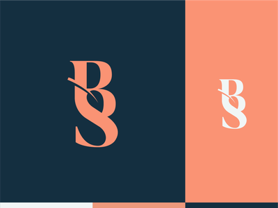 Bubble and Squeak - logo design. branding chef smart mark logodesigner logomark negative space logo negative space leaf logo leaf color