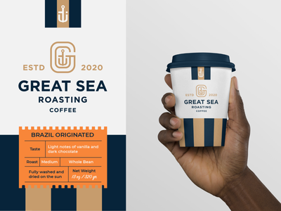 Coffee packaging beverage branding logo design coffee cup label packaging coffee packing coffee label coffee