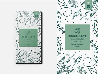 Choco late - packaging design labeldesign branding packaging packagingdesign chocolate packaging chocolate illustration cacao colour logodesigner