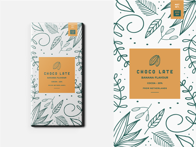 Choco late - packaging design labeldesign branding packaging packagingdesign chocolate packaging chocolate illustration cacao colour logodesigner