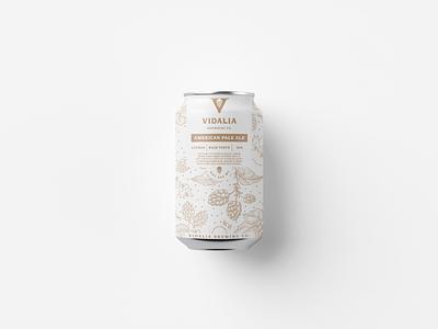Beer can design label hops packaging logo branding brand identity label design beer can design can