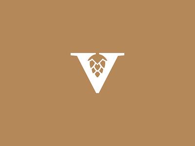 Beer logo design! minimalist logo logomark beer branding identity colour icon brewery negative space hops logo beer
