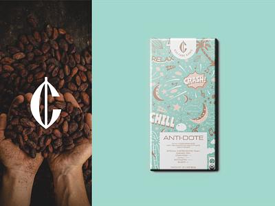 Culture Choc - Packaging design dessert sweets illustrations pattern bean cocoa logo branding food packaging food branding food packaging design packaging comics comic gym fitness