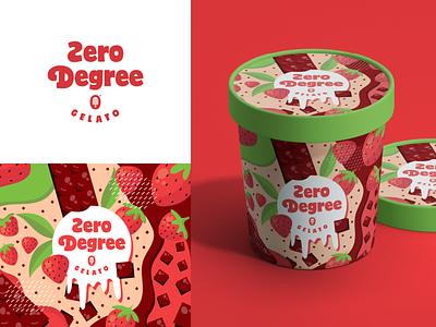 Ice Cream Branding sweet dessert colour logotype packaging design packaging food branding food branding ice cream branding ice cream ice