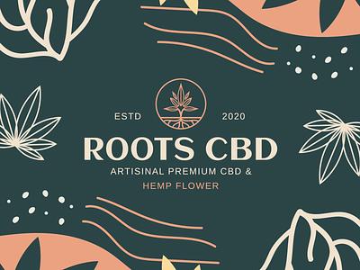 Cannabis Branding Design cannabis branding natural roots plant brand oil logodesigner branding designer branding pattern logo hemp leaves colour leaf wellness marijuana cbd oil cbd hemp cannabis