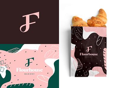 Bakery Branding Design. pattern colour sweet dessert food branding food packaging packaging bread pastry food bakery
