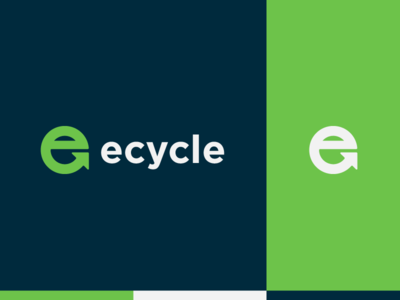 Ecycle - Logo design colors