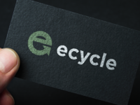 Ecycle  - Logo business card