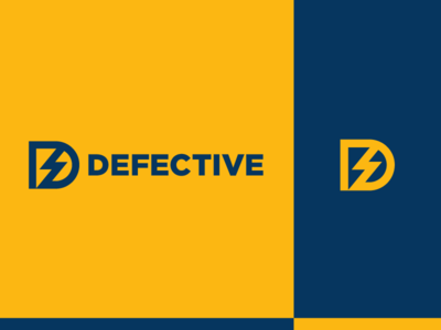 Defective - Logo design colors.