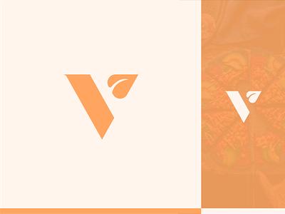 Brand & Identity for Veldora. smart logo plant v logo logodesigner logo restaraunt vegan leaf v identity color branding
