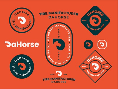 Horse badge designs.