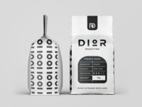 Coffee packaging design.